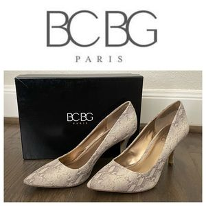 BCBG PARIS Day Taupe Gaminkha Pumps